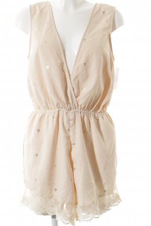 Vila Jumpsuit apricot-goldfarben Beach-Look