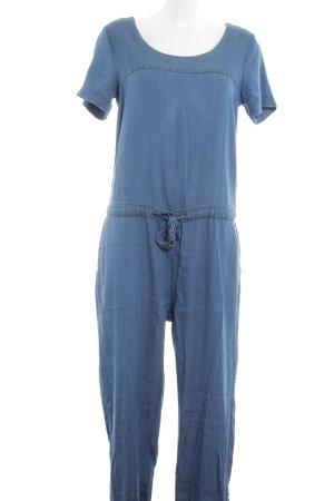 Vila Jumpsuit blau Jeans-Optik