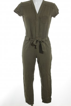Vila Jumpsuit grüngrau Casual-Look