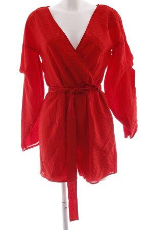 Vila Tuta rosso motivo a righe stile casual