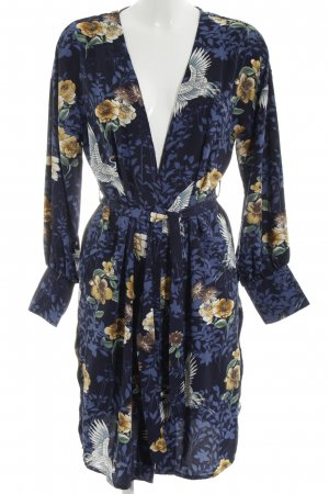 Vila Kimono Allover-Druck Business-Look