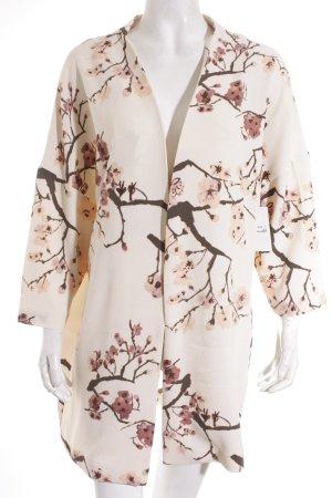 Vila Kimono florales Muster Street-Fashion-Look
