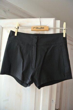 VILA Klassische Hotpants Schwarz Gr. S