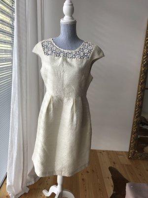 Vila Kleid beige