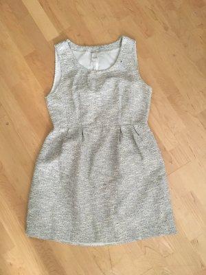 VILA Kleid grau melliert mit Rückenausschnitt