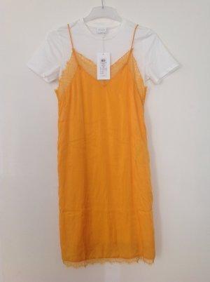 Vila Midi Dress white-orange