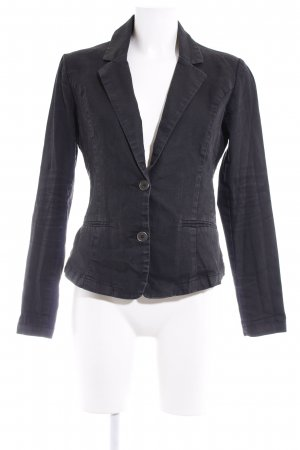 Vila Kurz-Blazer anthrazit Casual-Look