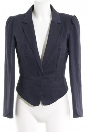 Vila Kurz-Blazer dunkelblau Business-Look