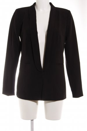 Vila Kurz-Blazer schwarz Business-Look