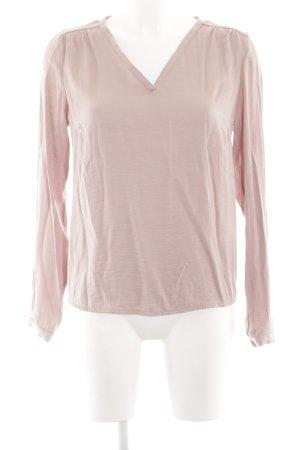 Vila Langarm-Bluse pink Casual-Look