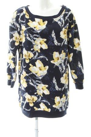 Vila Langarmkleid florales Muster extravaganter Stil