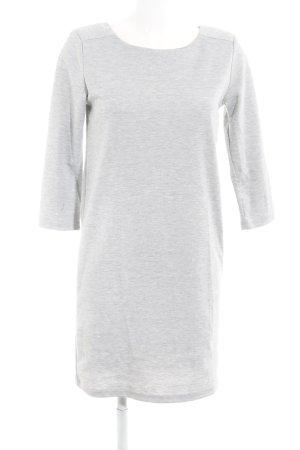Vila Longsleeve Dress light grey simple style