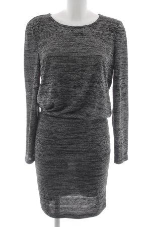 Vila Longsleeve Dress black-dark grey flecked casual look