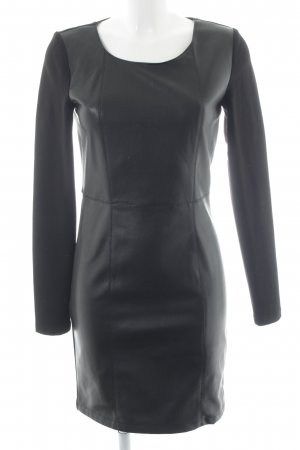 Vila Longsleeve Dress black elegant