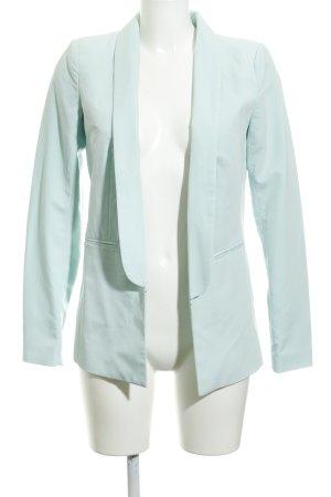 Vila Long-Blazer mint-türkis Business-Look
