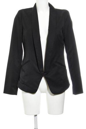 Vila Long-Blazer schwarz klassischer Stil