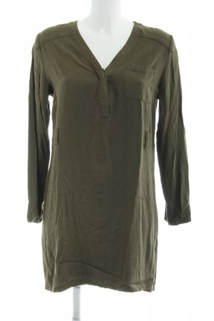 Vila Long Blouse olive green casual look