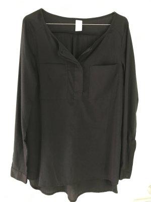 VILA Long-Bluse schwarz, Größe S, wie neu