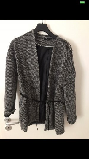 Vila Short Coat grey-light grey