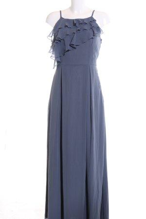 Vila Maxikleid blau Elegant