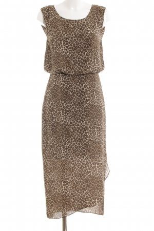 Vila Maxi Dress leopard pattern animal print