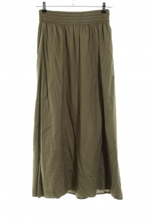 Vila Maxi Skirt khaki casual look