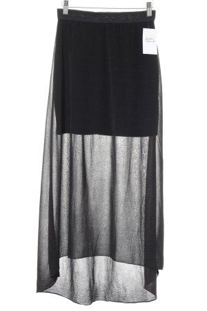 Vila Maxirock schwarz Street-Fashion-Look
