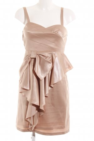 Vila Midi Dress nude elegant