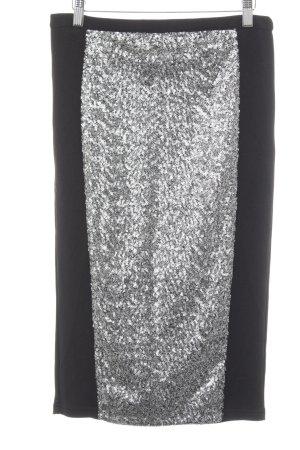 Vila Midirock schwarz-silberfarben klassischer Stil