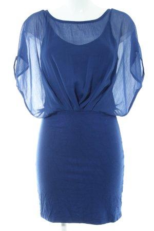 Vila Minikleid blau Business-Look