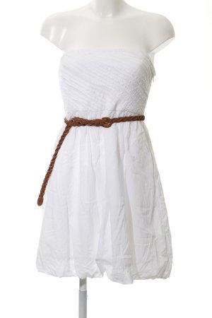 Vila Minikleid weiß Elegant
