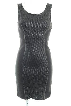 Vila Pailettenkleid schwarz Elegant
