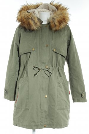 "Vila Parka ""Frumpy Parka Coat"" khaki"