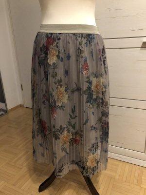 Vila Pleated Skirt green grey-khaki