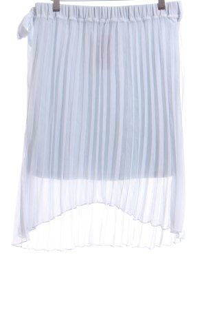 Vila Pleated Skirt blue elegant