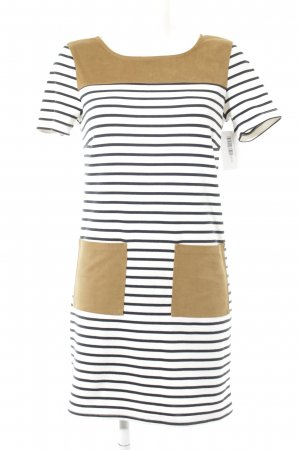 Vila Sweater Dress striped pattern casual look