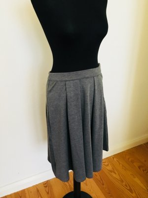 Vila Plaid Skirt grey-light grey