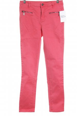 Vila Tube Jeans magenta casual look