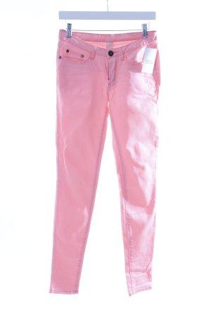 Vila Röhrenjeans pink Casual-Look