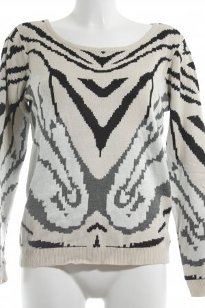 Vila Crewneck Sweater graphic pattern casual look