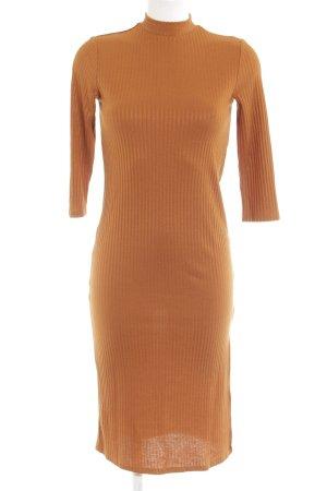 Vila Tubejurk licht Oranje gestreept patroon elegant