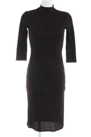 Vila Schlauchkleid schwarz Elegant
