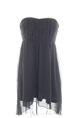 Vila Off the shoulder jurk zwart elegant