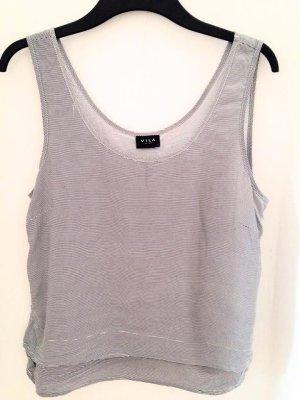 VILA Shirt (gestreift)