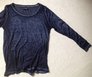 Vila Longsleeve anthracite mixture fibre