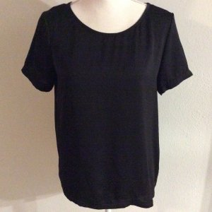 Vila Shirt schwarz