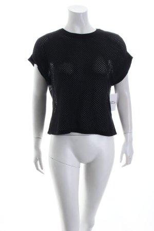 Vila Shirt schwarz sportlicher Stil