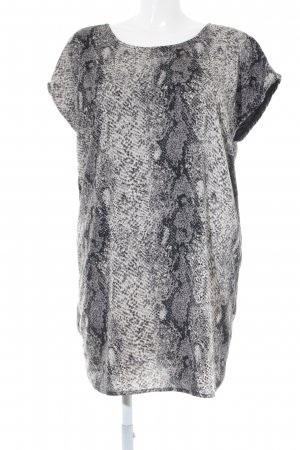Vila Shirtkleid Animalmuster Reptil-Optik