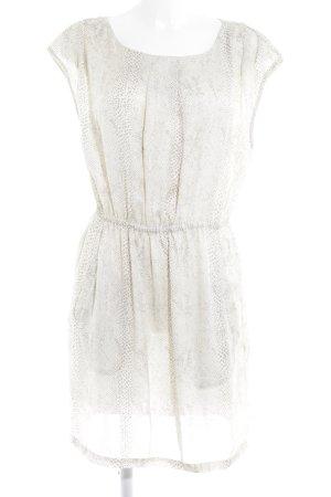 Vila Shirt Dress cream-grey casual look