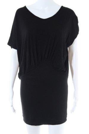 Vila Camisa tipo túnica negro look casual
